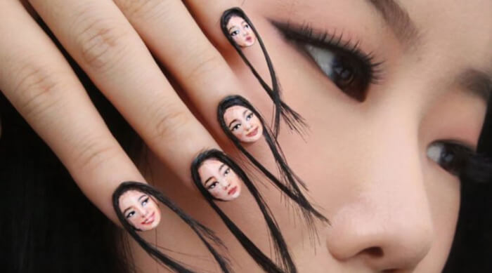 hairy manicure