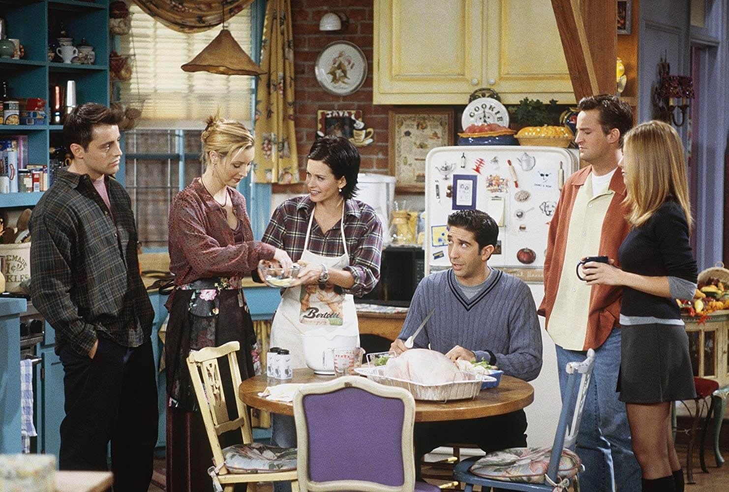 Monica Cooks Thanksgiving Dinner