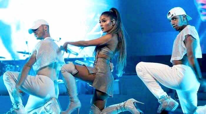Ariana Grande in concert
