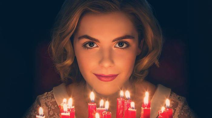 Kiernan Shipka in Chilling Adventures of Sabrina