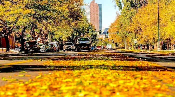 Denver, Colorado in fall