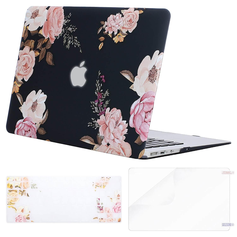 Floral laptop case