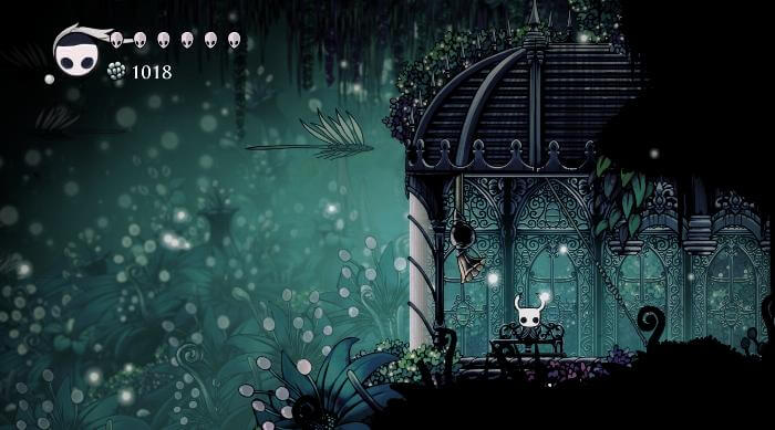 Hollow Knight: Greenpath Bench