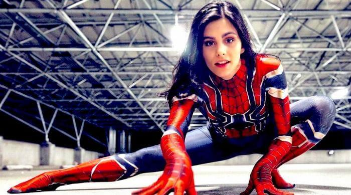 Instagram: Spider-Man Iron Spider cosplay