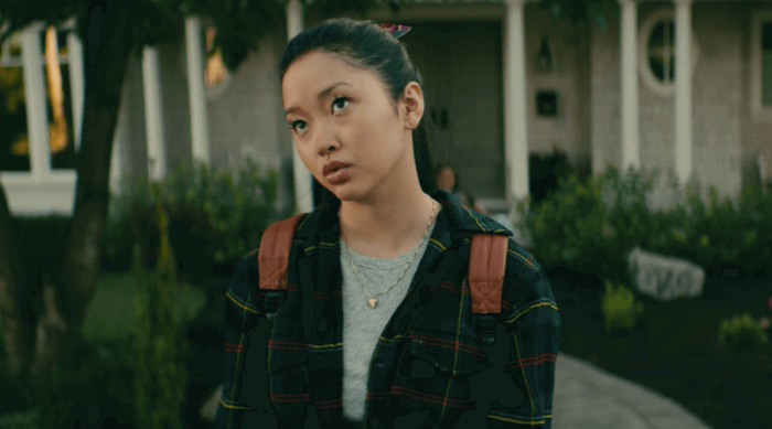 To all the boys i've loved before: lara jean rolling her eyes