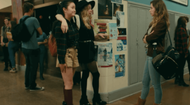 To All the Boys I've Loved Before: Lara Jean Combat Boots outfit