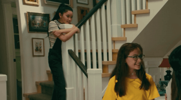 To All the Boys I've Loved Before: Lara Jean overalls outfit