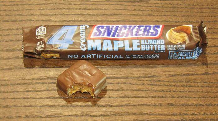 Creamy Snickers: Maple Almond Butter
