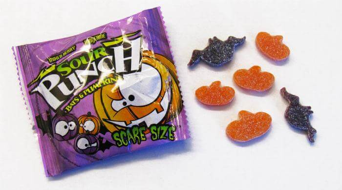 Sour Patch Bats & Pumpkins