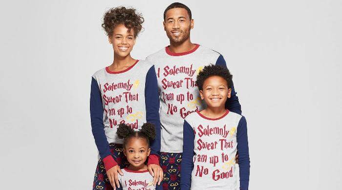 Target Harry Potter Family Pajamas Collection