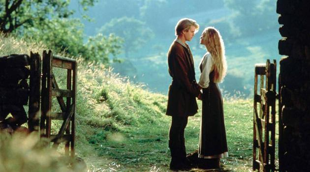 The Princess Bride: Wesley and Buttercup saying goodbye