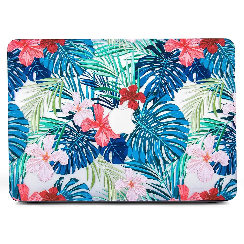 Tropical print laptop case
