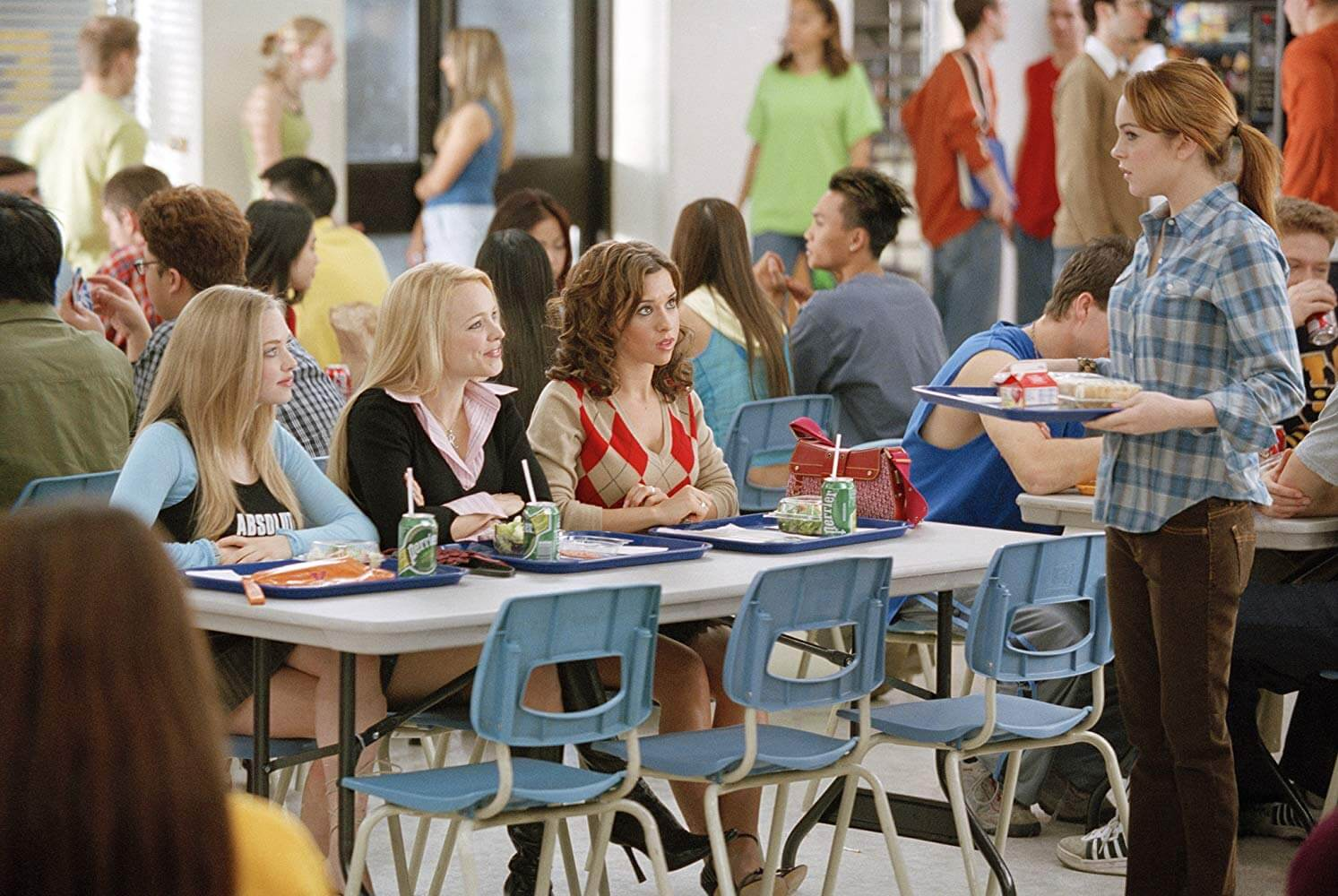 Mean Girls in the Cafeteria