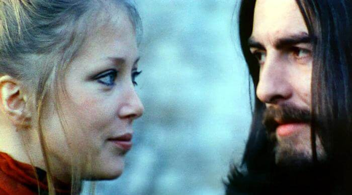 The Beatles - Something Music Video - Patti Boyd and George Harrison