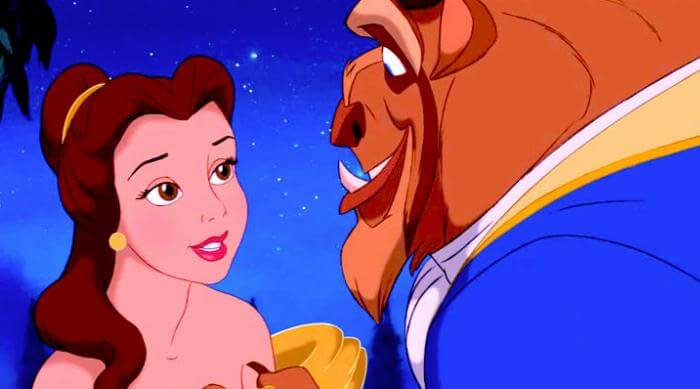 Beauty and the Beast: Belle and the Beast dancing