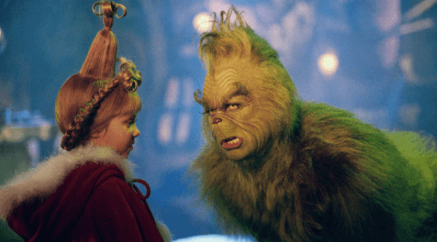 How the Grinch Stole Christmas: Grinch talking to Cindy Lou Who