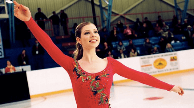 Ice Princess: Casey performing