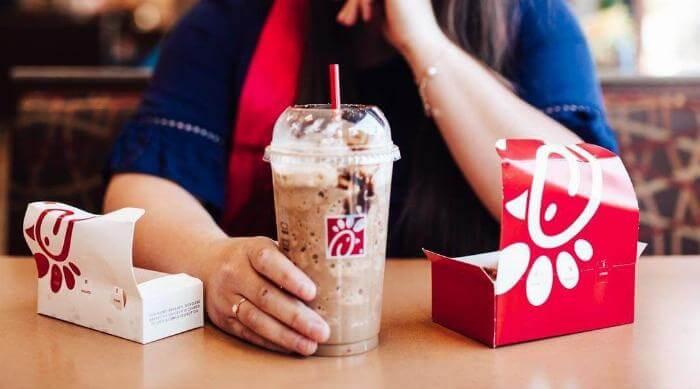 Instagram: Chick-fil-A Chocolate milkshake