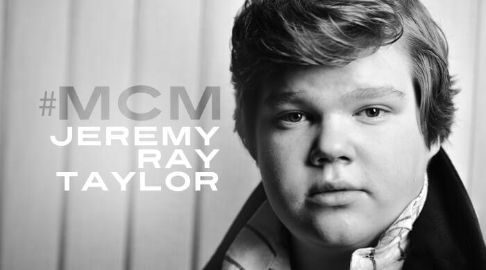 #MCM Jeremy Ray Taylor
