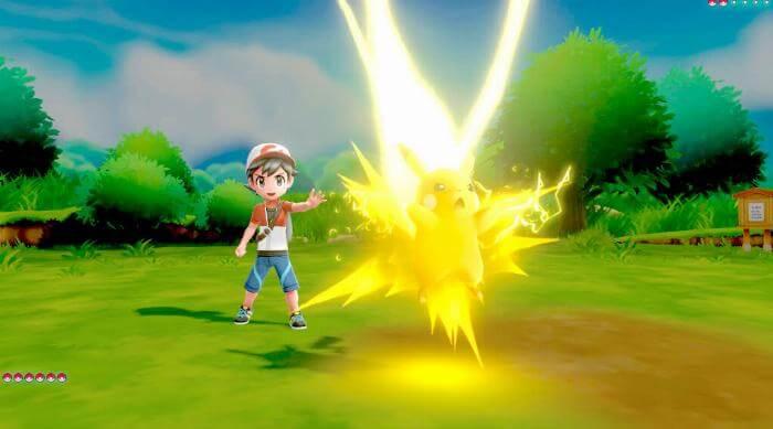 Pokémon: Let's Go Pikachu - Electric attack