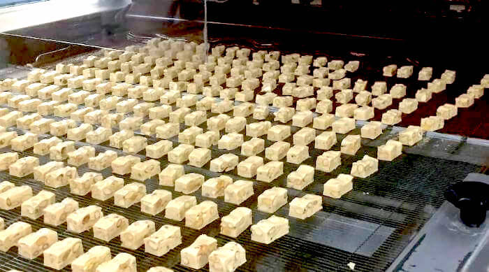 See's Candies Factory Tour: Nougat enrobing