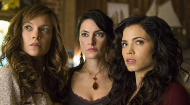 Madchen Amick and Jenna Dewan in Witches of East End