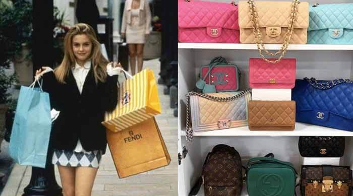 Alicia Silverstone Clueless Shopping