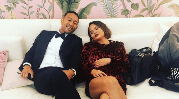 Instagram: John Legend and Crissy Teigen