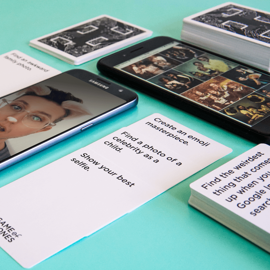 Review of Game of Phones Smartphone-Based Card Game