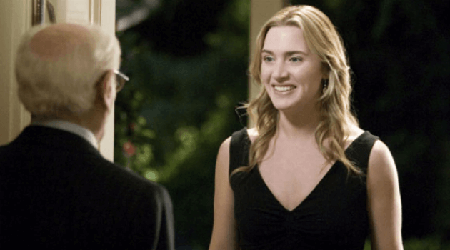 The Holiday: Kate winslet getting the old man