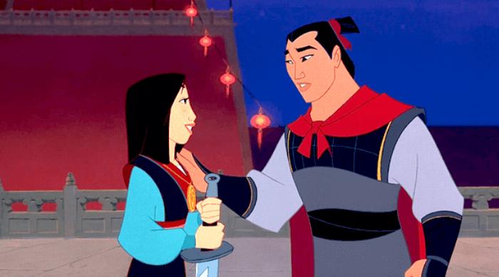 Mulan: Shang tells Mulan 'You fight good'