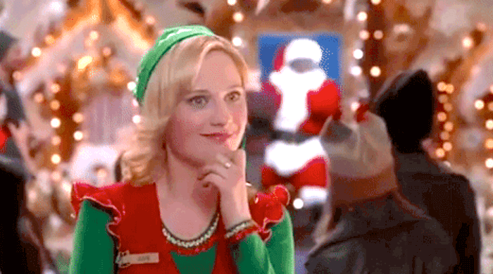 Elf: Zooey Deschanel in an Elf costume