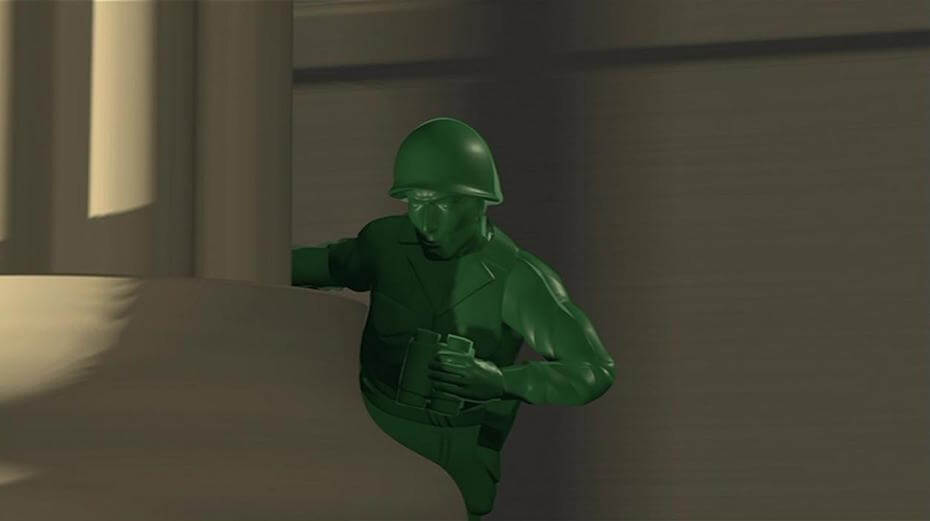 Sarge in Toy Story