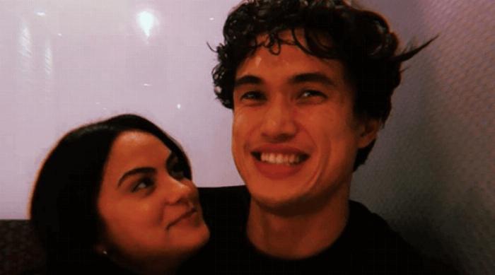 Camila Mendes and Charles Melton