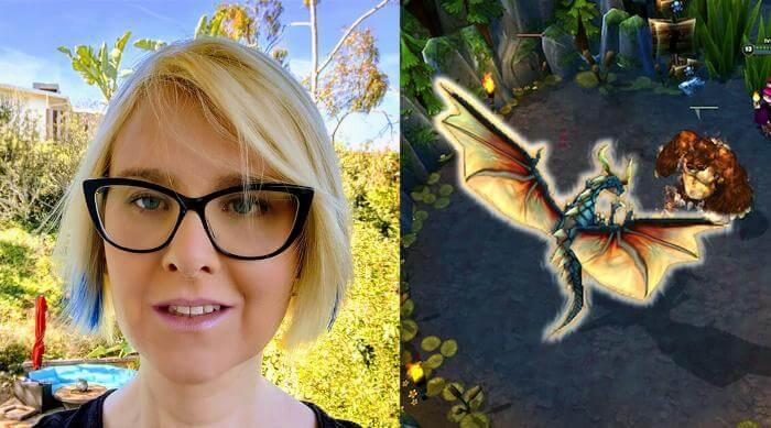 Christina Norman: Headshot and League of Legends screenshot