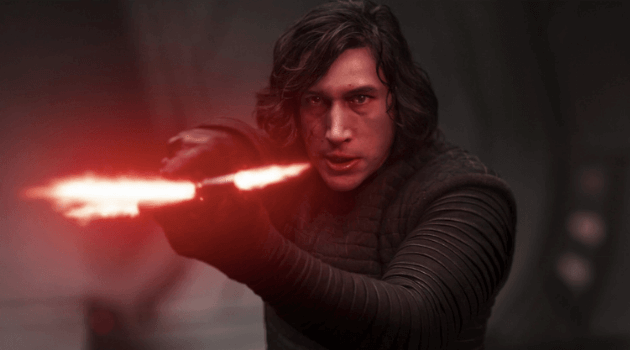Star wars - kylo ren with lightsaber