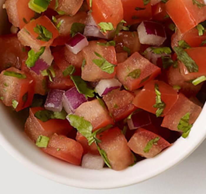 Chipotle: Fresh tomato salsa