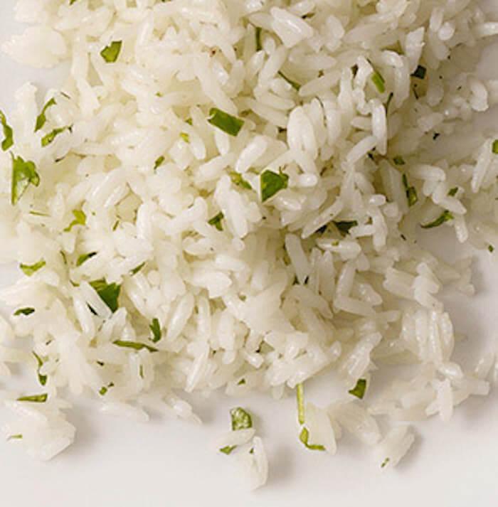 Chipotle: White rice