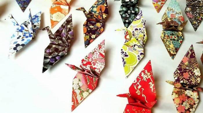 Instagram: Origami Paper Cranes