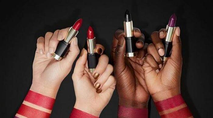 Milani lipstick swatches