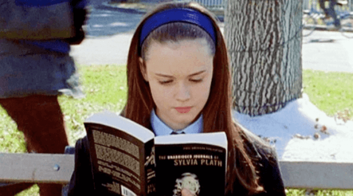 gilmore girls - rory readin