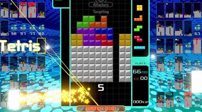 Tetris 99: Targeting