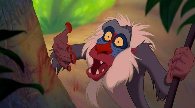 The Lion King's Rafiki