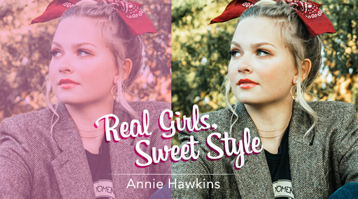 Real Girls Sweet Style Annie Grace Hawkins