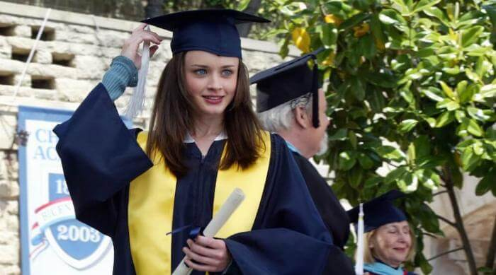Rory Gilmore Graduates