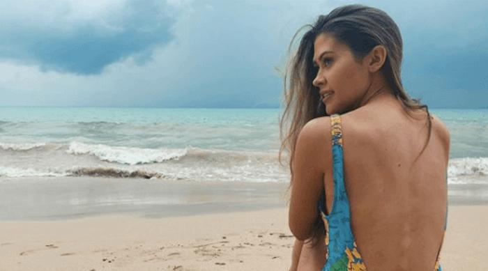 caelynn miller keyes at beach instagram