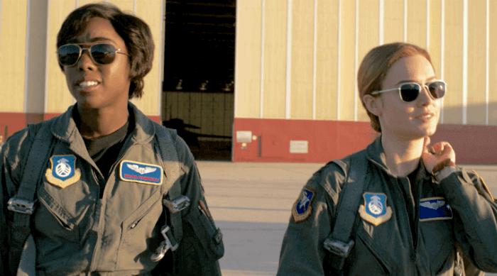 captain marvel - carol and maria in flight uniforms