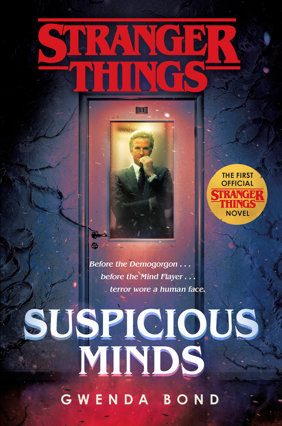 Stranger Things: Suspicious Minds book cover
