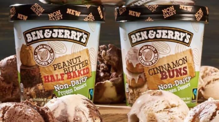 Ben & Jerry's vegan ice cream flavors