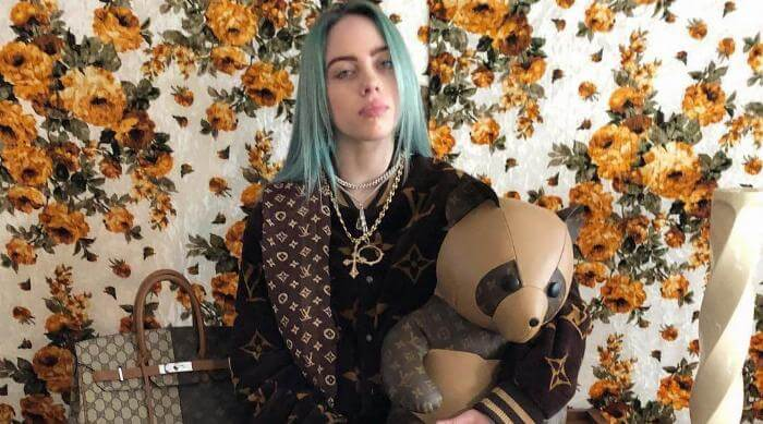 Billie Eilish in Louis Vuitton